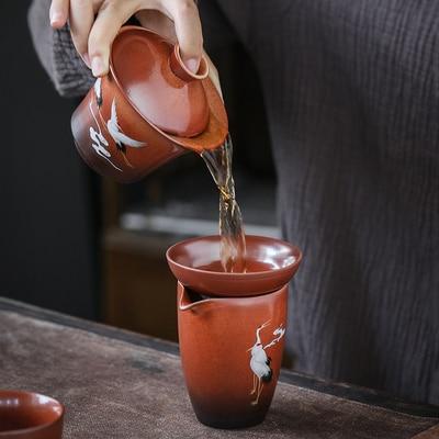 Ceramic Chinese Stone Pottery Tea Set 3