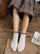 Новые женские носки лодочки с красным сетчатым рисунком полностью