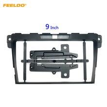 "FEELDO Car 2Din Radio Stereo Fascia Frame for Mazda CX 7 9"" Big Screen CD/DVD Player Face Dash Mount Trim Kit #HQ6749"