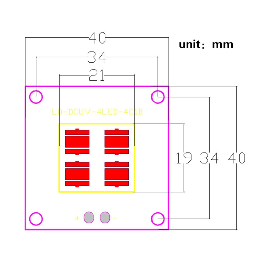 2 шт./компл. свет 30 Вт 40 Вт Led UV Boost постоянный ток комплект для печати драйвер модуля лампа панель источник для SLA DLP