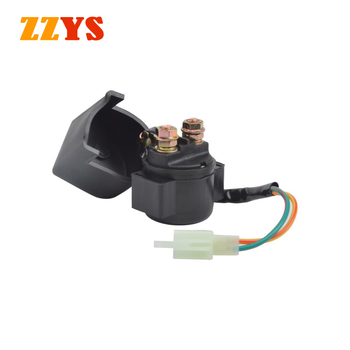Motorcycle 12V Electrical Starter Relay Solenoid Ignition Switch For HONDA CH125 ELITE CH 125 NX250 NX 250 CX500 CX 500 VF 750 image