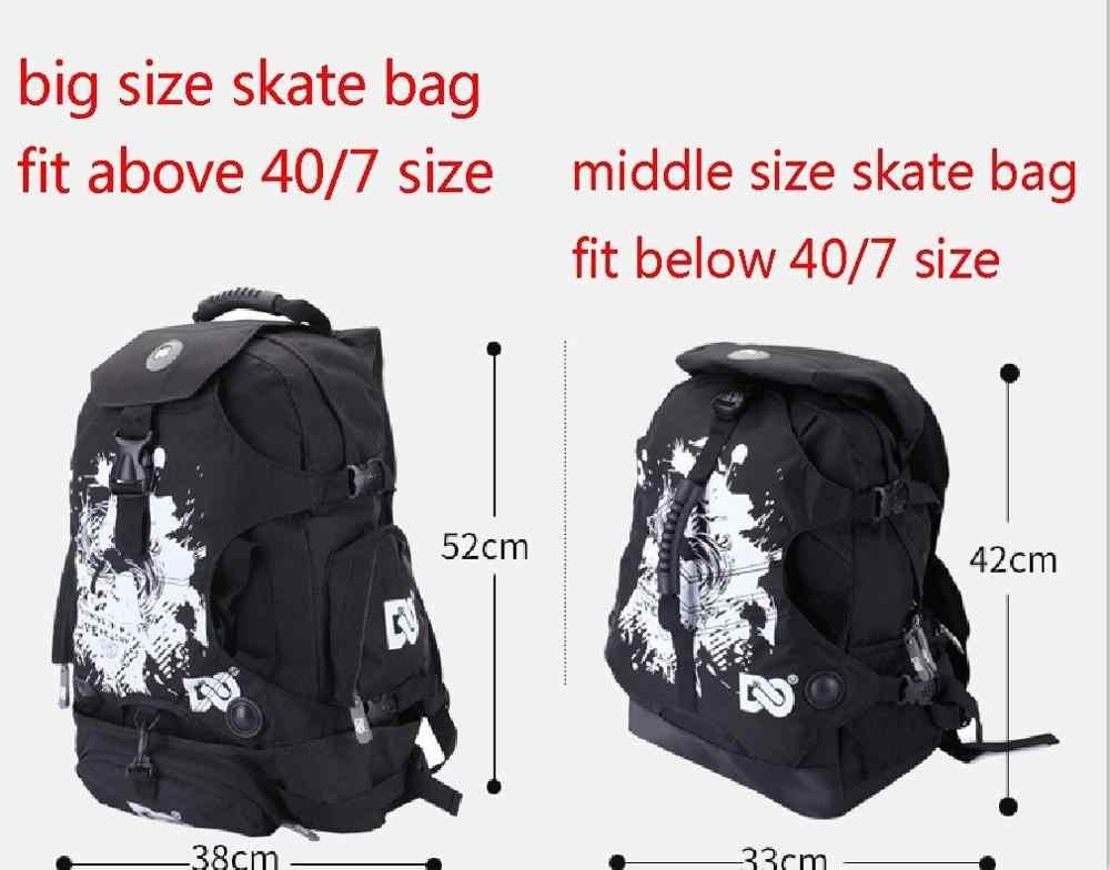 Встроенный рюкзак для коньков, сумка для роликовых коньков, обувь, рюкзак, сумка для взрослых, ранец, сумка через плечо для мужчин и женщин, для прогулок на открытом воздухе