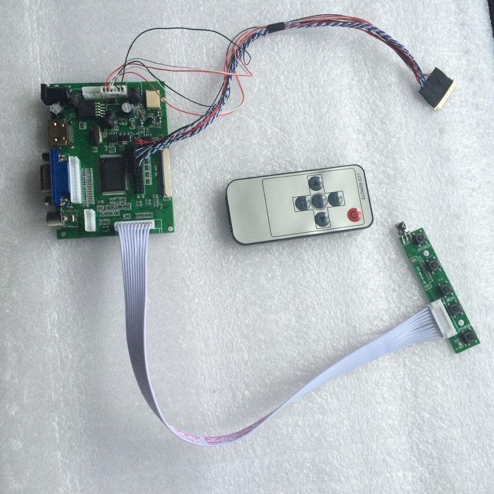 "LED LCD For HSD101PFW2/B101AW03 10.1"" l monitor VGA 2AV 40 pins Panel Screen HDMI Controller driver board 1 LAMPS(China)"