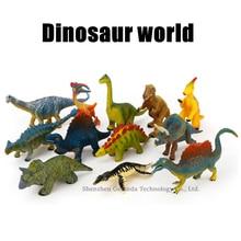 Hasbro 12 styles Childrens educational learning toy simulation dinosaur model