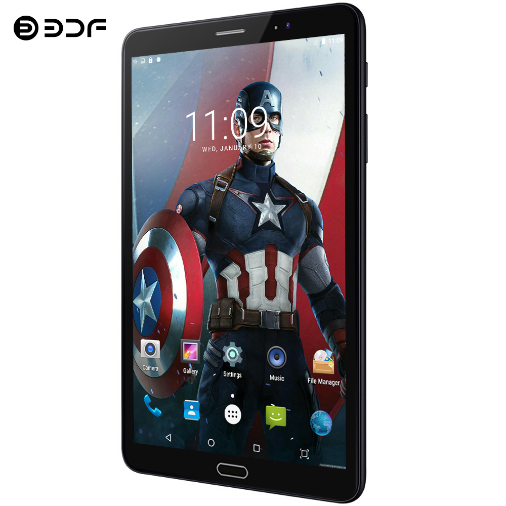 BDF 8 Inch Android 7.0 Tablet Pc 4G LTE Phone Call Tablet 4GB/64GB Ultra HD Camera 1920*1200 IPS Octa Core 4G Tablets 7 8 9 Inch