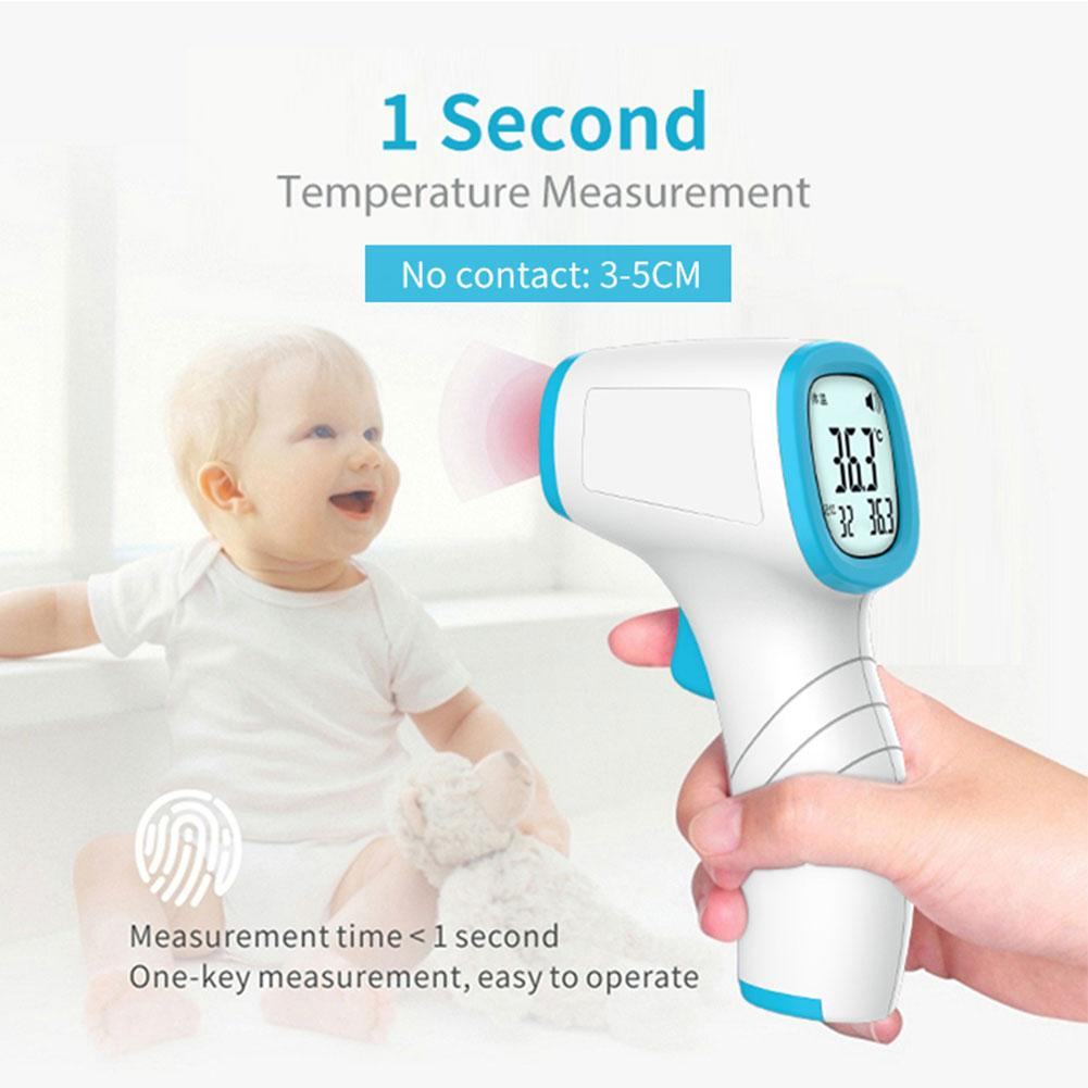 Forehead Thermometer Non-Contact Infrared Thermometer Electronic Thermometer For Children Adults Body Temperature Measurement