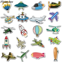 sticker motorcycle Flyingbee 40 pcs Flying gear Sticker hot air balloon Stickers for DIY Luggage Laptop Skateboard Car Motorcycle Stickers X0737 (5)