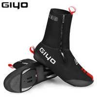 Giyo ciclismo overshoes impermeável à prova de vento velo mtb estrada quente bicicleta sapatos cobre inverno protetor térmico