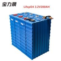 LiFePO4 Battery Packs 8PCS 3.2V200ah cell 2019 NEW CALB Plastic 24v400AH 12V400AH for pack EV solar battery US EU AU Tax free