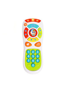 HOLA TOYS 3113 Baby Toys Electric Click & Count Remote with Light & Music for children