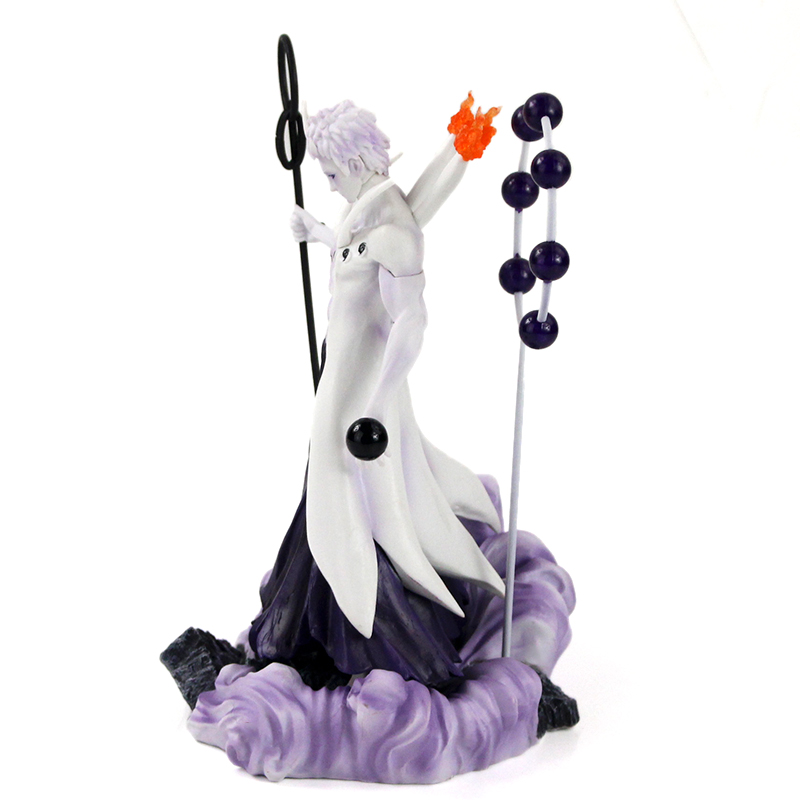 25-27cm Naruto Figure Statue Uchiha Obito Rikudou Sennin Decoration Toys PVC Collection Model Doll Gift 42