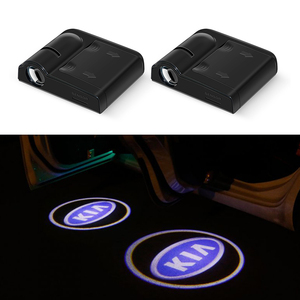 Для KIA, Автомобильный светодиодный светильник с логотипом, добро пожаловать, лазерный теневой прожектор, светильник для KIA OPTIMA K5 CERATO Sorento K2 K3 ...