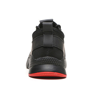 Image 4 - 남자를위한 작업 부츠 작업 안전 신발 공장 철강 발가락 신발 미끄럼 방지 방지 스매싱 펑크 증거 통기성