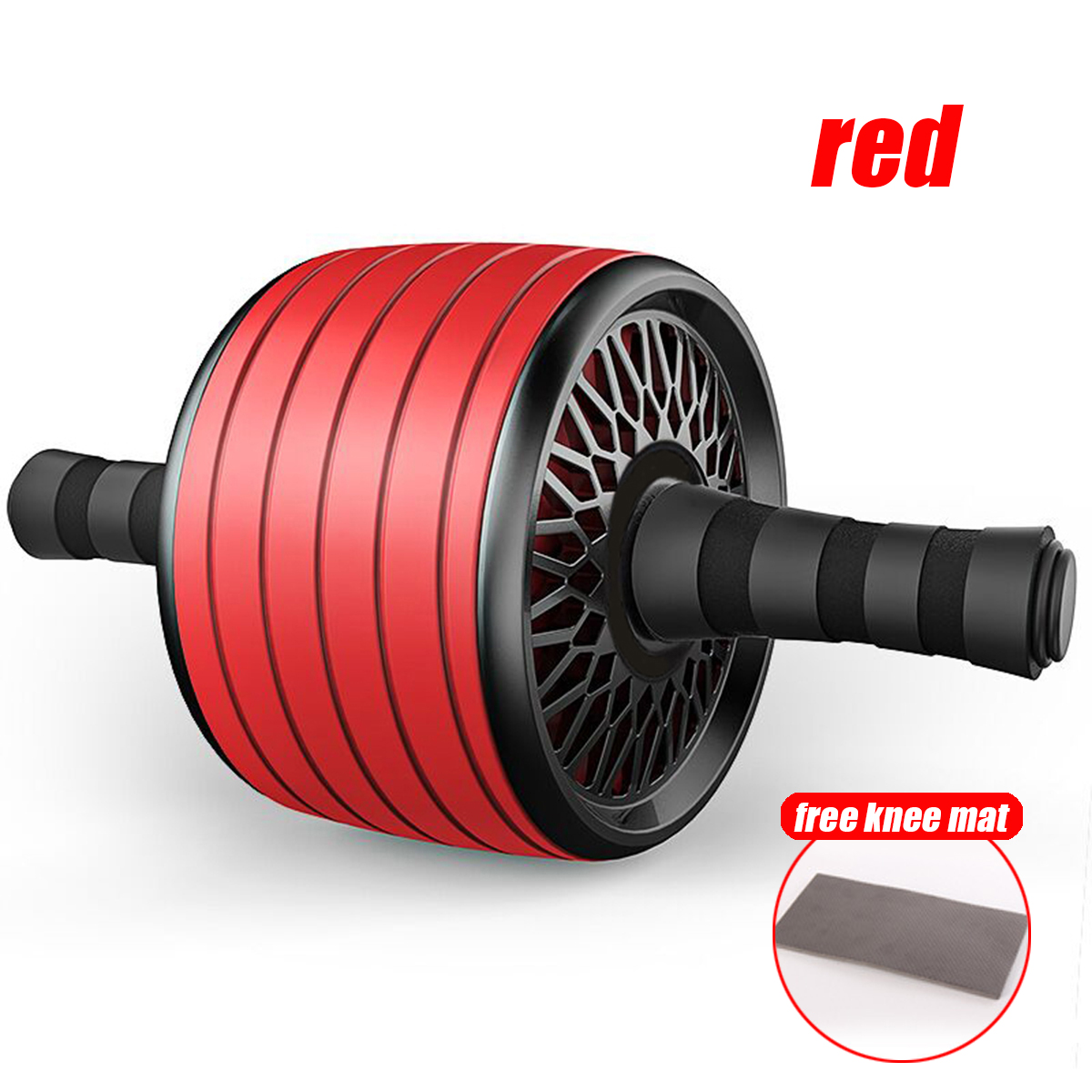 with knee mat red