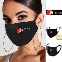 Respirator Face-Mask Anti-Dust-Mouth-Mask Logo S-Line Sport-Print Washable Earloop Cycling