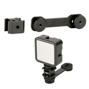 PT-3 Triple Hot Shoe Mount Adapter Micro...