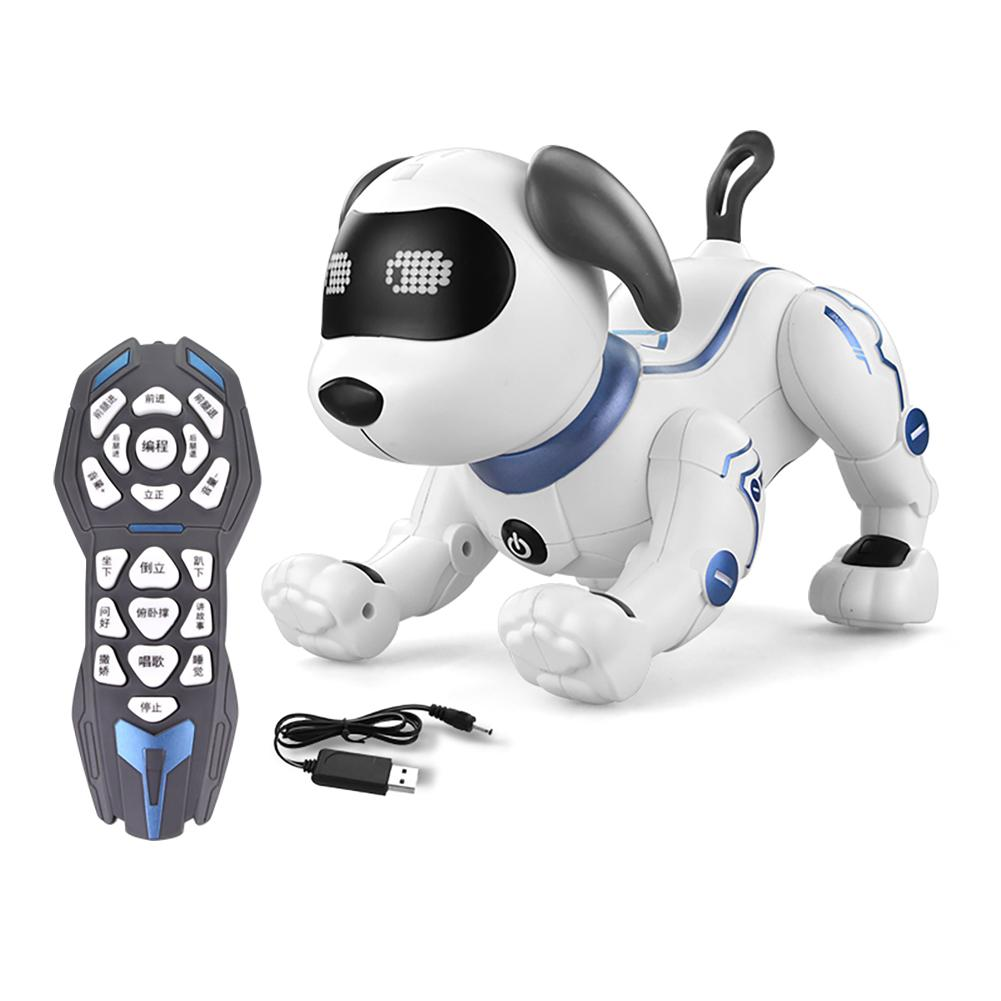 Induction Toy Dog Control Dog Smart Robot Electronic Pet Interactive Program Dancing Walk Robotic Animal Toy Gesture Following