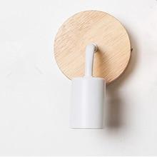 Fixtures Wall-Lamp Wood Lighting Sconces Decorative Retro-Decor Industrial-Loft Living-Room