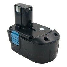 Power Tool Battery 18V NI-CD/ Ni-Mh 5000mAh Rechargeable for Hitachi Drill EB1820 EB1814 EB1826HL EB1830HL 322437 Battery power tool battery 18v ni cd ni mh 5000mah rechargeable for hitachi drill eb1820 eb1814 eb1826hl eb1830hl 322437 battery