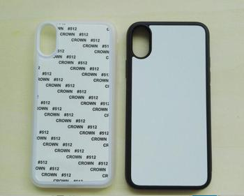 50pcs Sublimation Phone Case For iPhone Shell of hard case PC Aluminum Shell for 2D Hot Transfer Printing Mobile Phone Shell
