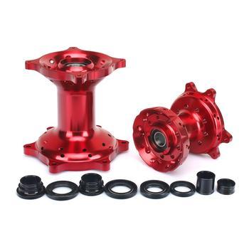 BIKINGBOY Front Rear Wheels Hubs Kits For Honda CRF 250 R 2004-2013 CRF 450 R 2002-2012  CR 125 250 R 02-13 CRF 250 450 X 04-16