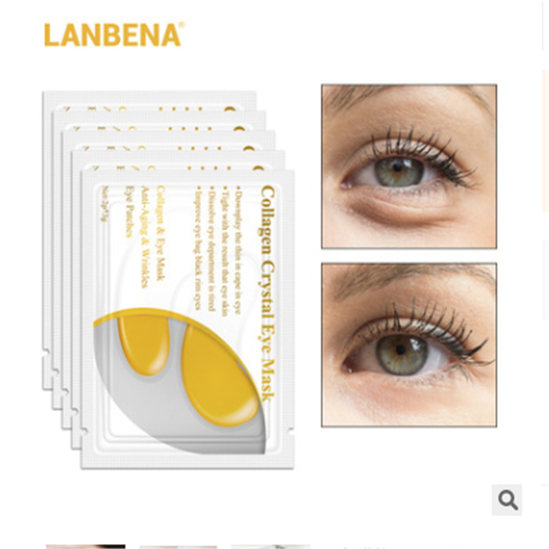 LANBENA Collagen Hydro Mask Eye Zone White Anti Wrinkle Care Korea Cosmetic