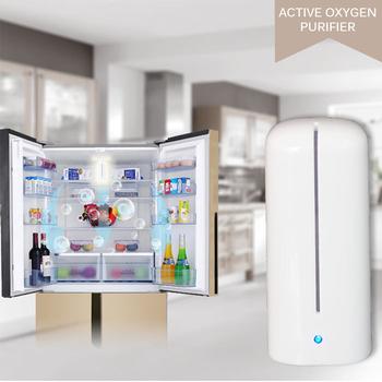 Mini oczyszczacz powietrza lodówka zapachy zapach Remover dezodorant sterylizator Generator ozonu elektroniczny lodówka dezodorujący odświeżacz tanie i dobre opinie Joliemaison Refrigerator Deodorizer