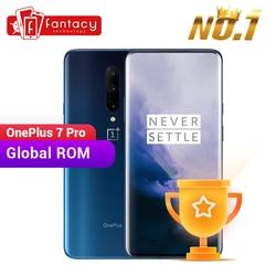 Global ROM OnePlus 7 Pro 6GB 128GB Smartphone 48MP Camera Snapdragon 855 6.67 Inch Vloeistof AMOLED Display Vingerafdruk UFS 3.0 NFC