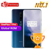 Global ROM OnePlus 7 Pro 8GB 256GB Smartphone 48MP Camera Snapdragon 855 6.67 Inch Fluid AMOLED Display Fingerprint UFS 3.0 NFC