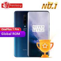 ROM global OnePlus 7 Pro 8GB 256GB Smartphone 48MP Cámara Snapdragon 855 de 6,67 pulgadas de Pantalla AMOLED huella UFS 3,0 NFC