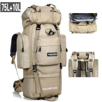 85L Large Capacity Hiking Bag Tactical Backpack Men Women Outdoor Camping Travel Sports Climbing Rucksack Military Backpacks