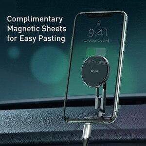 Image 5 - Baseus מגנטי מכונית טלפון בעל עבור iPhone 11 Samsung אוטומטי סלולרי נייד טלפון Stand תמיכת מגנט הר מחזיק עבור טלפון במכונית
