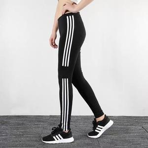 Skinny Leggings Women Pants Elastic High-Waist Striped Winter Cotton Fashion Spring Causal