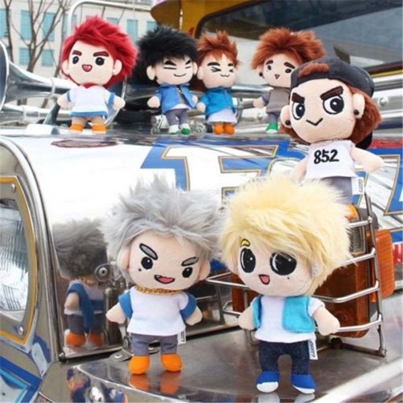 Korea EXO GOT7 Dream Knight Doll/'s Clothing Plush Toy T shirt Pants 15 cm Doll