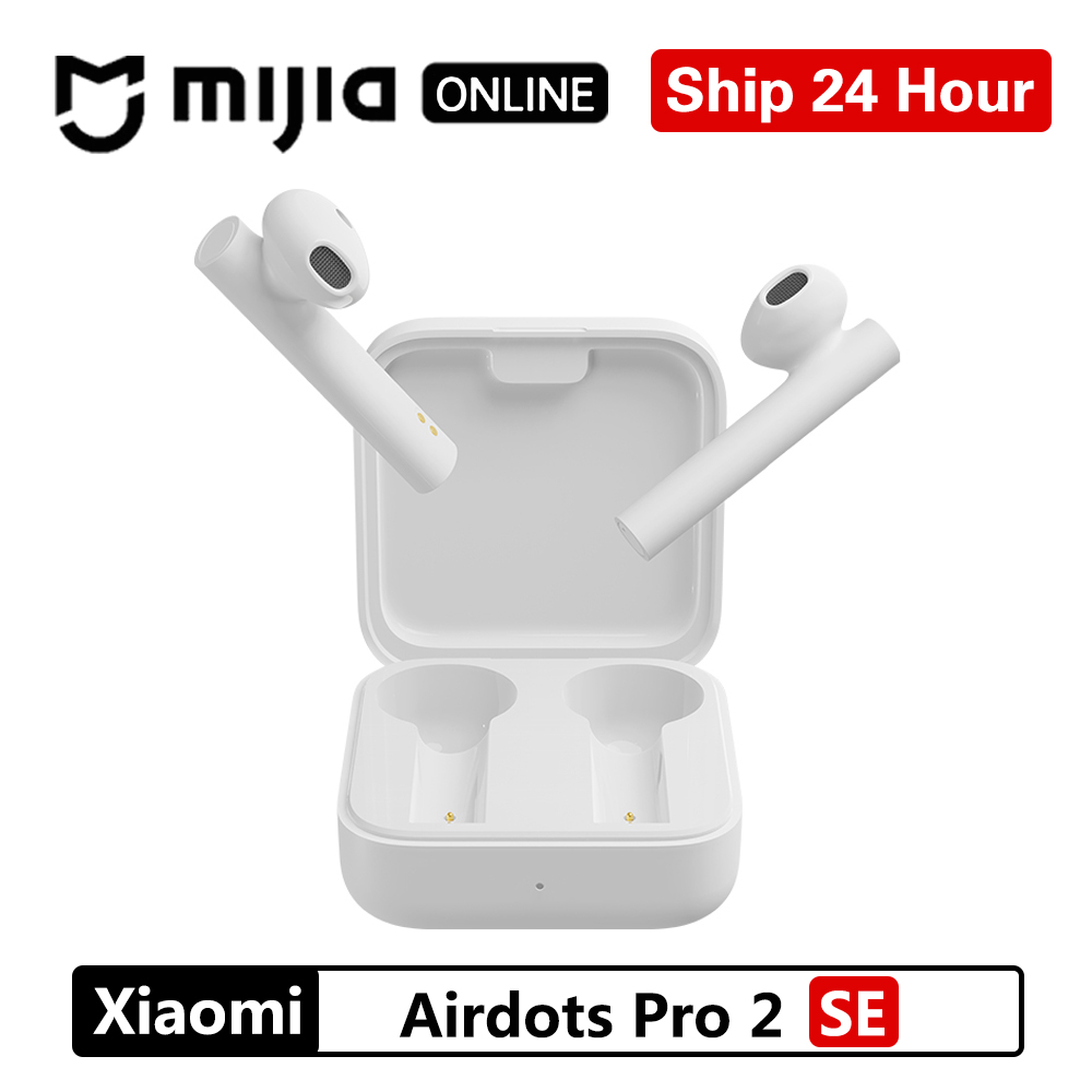 NEW Xiaomi Air2 SE Wireless Bluetooth Earphone TWS AirDots Pro 2SE SBC/AAC Mi True Earbuds Low Lag 20h Long Standby With Bo|Phone Earphones & Headphones|   - AliExpress