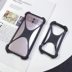 Универсальный мягкий эластичный силиконовый чехол-бампер для телефона Doogee HOMTOM HT50 HT37 HT6 4G LTE