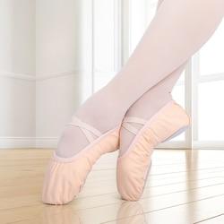 Meisjes Ballet Dans Schoenen Canvas Zachte Zool Ballet Slippers Kinderen Practise Ballerina Schoenen Vrouw Volwassenen Dansschoenen