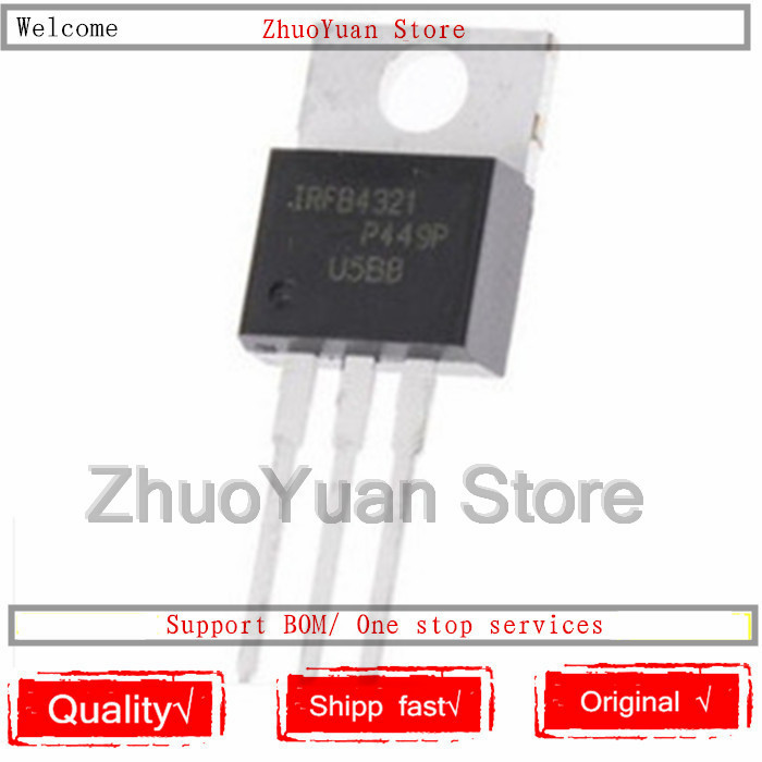 10PCS/lot New Original  IRFB4321PBF IRFB4321 TO-220  150V 83A MOSFET