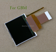 5pcs/lot for GBM High quality Original New LCD Screen display with flex cable for GameBoy micro GBM Repair Parts