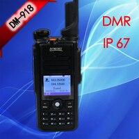 2 PCS 2019 DONGKE DM 918 Digital Walkie Talkie DMR Dual time slot DMR Radio powerful communication radios CB walkie talkies