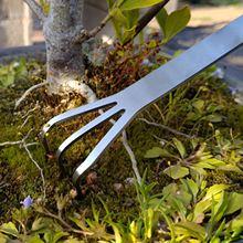 Root grabie narzędzie do rozluźniania gleby ze stali nierdzewnej 3 widelec narzędzie do uprawy gleby grabie ogrodowe praktyczne narzędzie Bonsai z ergonomiczny uchwyt tanie tanio Youool CN (pochodzenie) STEEL Uchwyt ze stali root rake Ogród prowizji