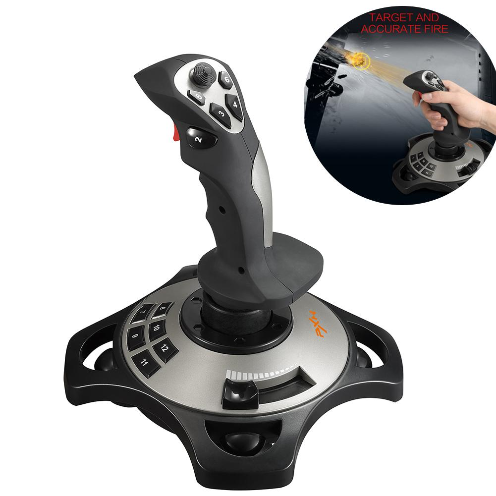 Flight Joy Stick PC Game PXN-2113 USB Interface Computer Game Joystick With Vibration Analog Controller
