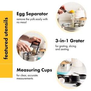 Image 5 - Đồ Gia Dụng Bộ 40 Dụng Cụ Nấu Ăn Nylon Và Dụng Cụ Đánh Trứng Inox Bộ Chống Dính Thìa Đũa Bộ Nấu Ăn Bộ Dụng Cụ quà Tặng