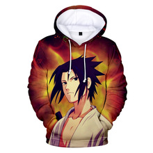 New Mens Naruto Hoodie Fashion Trend 3D Print Casual