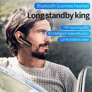 Image 4 - V19 Auricolare Senza Fili 1PC Mini Bluetooth Rumore Concel Suono Stereo Handsfree Con Il Mic Cuffia Auricolare Auricolari Per IOS Android