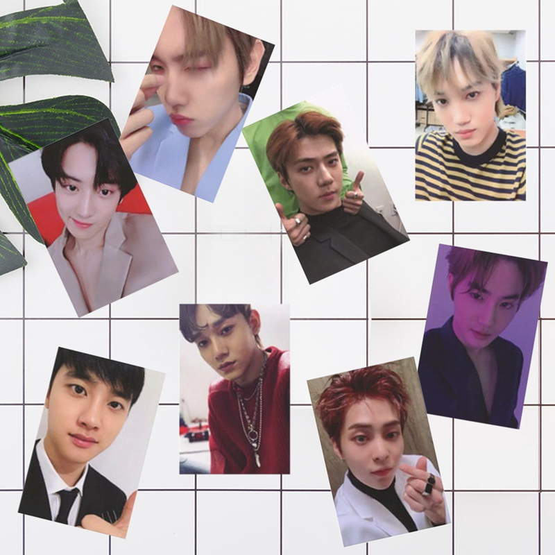 EXO Official Album Photo Cards HD