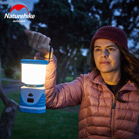 Naturehike 56 Seed LED Outdoor Lamp 6600mA Multifunctional Tricolor Camping Tent Lamp 22 Hour LED Camping Lamp Charging Treasure