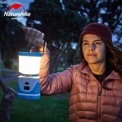 Naturehike 56 nasion LED lampa zewnętrzna 6600mA wielofunkcyjny Tricolor namiot kempingowy lampa 22 godziny lampa kempingowa LED urządzenie ładujące w Zewnętrzne narzędzia od Sport i rozrywka na