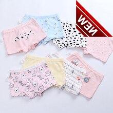 Girls In Baby Cotton Underwear, Cute Boxers, Flower Fabric, Calcinha Infantil