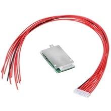 Плата защиты питания литиевой батареи 10S 36V 37V 15A литий ионный аккумулятор BMS PCB PCM